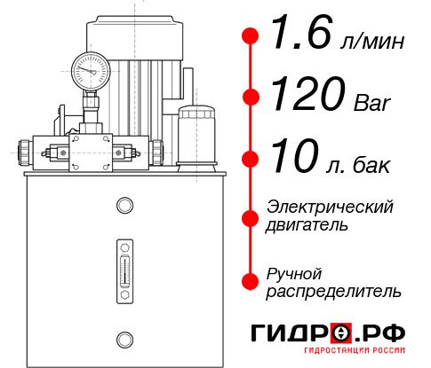 Маслостанция с электроприводом НЭР-1,6И121Т