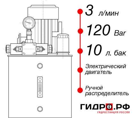 Маслостанция с электроприводом НЭР-3И121Т