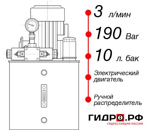 Маслостанция с электроприводом НЭР-3И191Т