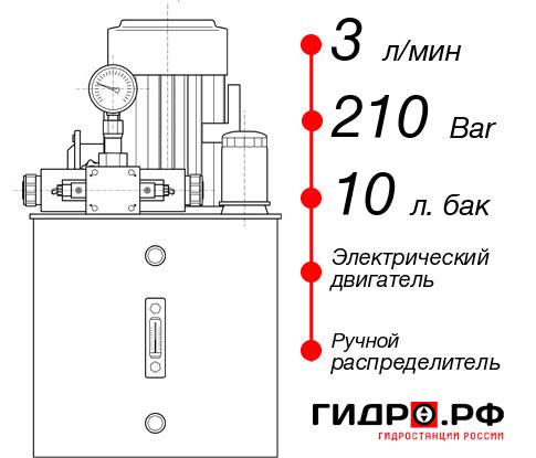 Маслостанция с электроприводом НЭР-3И211Т