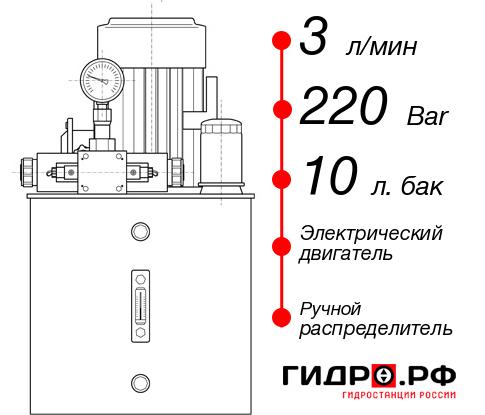 Маслостанция с электроприводом НЭР-3И221Т